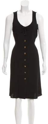 Sonia Rykiel Sleeveless Knee-Length Dress