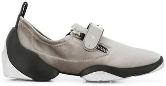 Giuseppe Zanotti Design metallic touch-strap sneakers