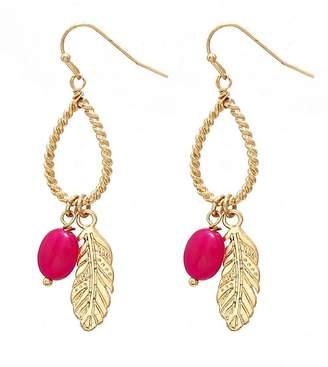 Wild Lilies Jewelry Feather Dangle Earrings
