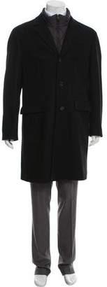 Burberry Wool Blend Overcoat