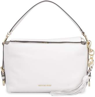 b798abc430a3 Michael Kors Brooke Pebbled Leather Handbag