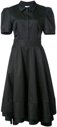 Co slim-fit collared dress