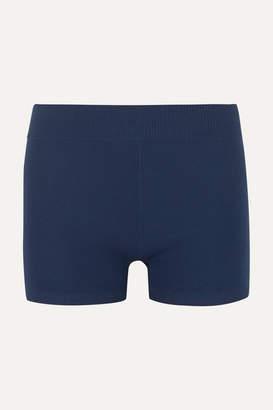 Nagnata Technical Stretch-organic Cotton Shorts