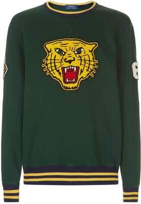 Polo Ralph Lauren Tiger Patch Fleece Sweatshirt
