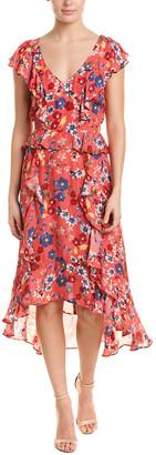 Parker Annabel Silk-Blend Maxi Dress