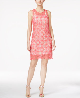 kensie Sleeveless Lace Sheath Dress $119 thestylecure.com