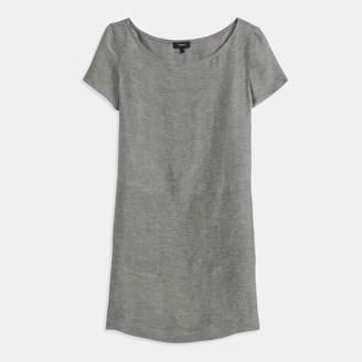 Linen Twill Structured Dress