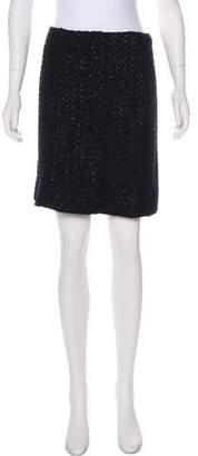 Marni Woven A-Line Mini Skirt