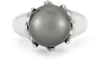 JCPenney FINE JEWELRY Tahitian Pearl Sterling Silver Ring
