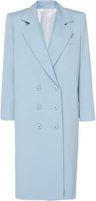 ATTICO Gabardine Double-Breasted Coat