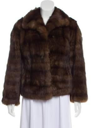 Pologeorgis Sable Fur Jacket