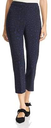 Kate Spade Leopard-Print Cropped Pants