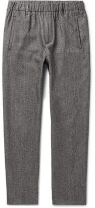 Incotex Slim-Fit Virgin Wool And Cotton-Blend Trousers