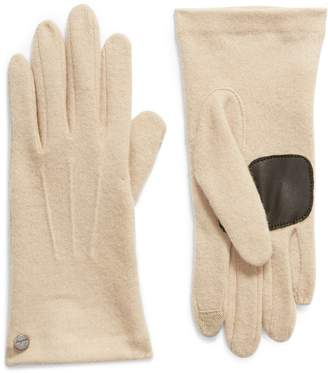 Echo Wool & Cashmere Blend Water Repellent Touchscreen Gloves
