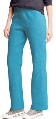 Hanes ComfortSoft Women's Open Bottom Leg Fleece Sweatpant