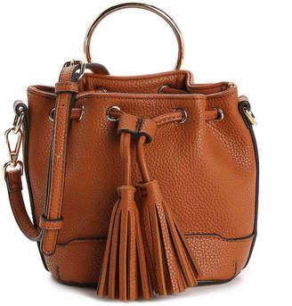 Urban Expressions Drawstring Ring Mini Crossbody Bag - Women's