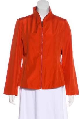 Fendi Structured Long Sleeve Blazer