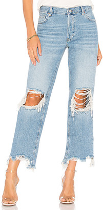 Free People Maggie Straight Jean.