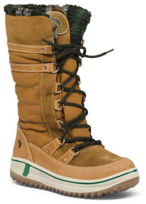 Temperature Rated Cold Weather Leather Boots