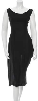 Yohji Yamamoto Sleeveless Silk Dress w/ Tags $600 thestylecure.com