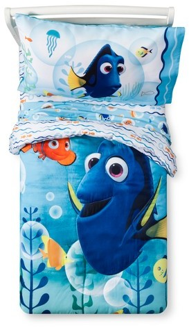 Disney Disney Finding Dory® Blue Bedding Set (Toddler) 4pc