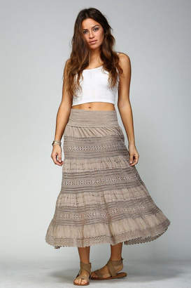 Apparel Love Crochet Maxi Skirt