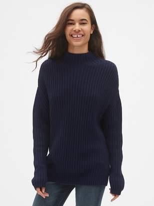 c88f1dfbde Gap Shaker Stitch Pullover Turtleneck Sweater