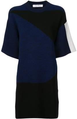 Proenza Schouler PSWL Graphic Jacquard Knit Dress