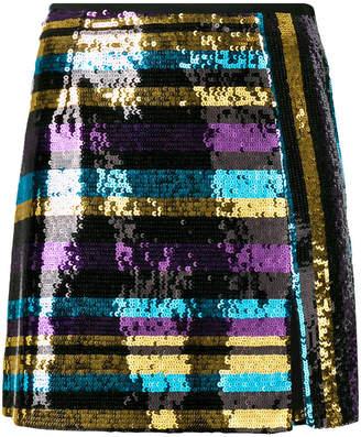 Giamba short paillette skirt