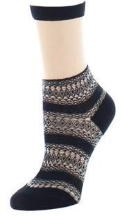 Natori Nouveau Sheer Crew Socks