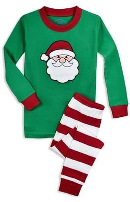 Sara's Prints Unisex Santa Pajama Shirt & Pants Set - Little Kid