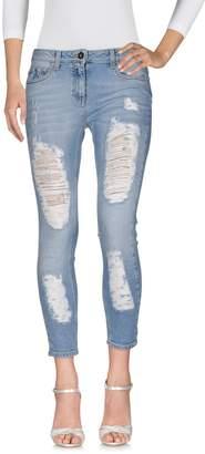 Elisabetta Franchi Denim pants - Item 42627490LI