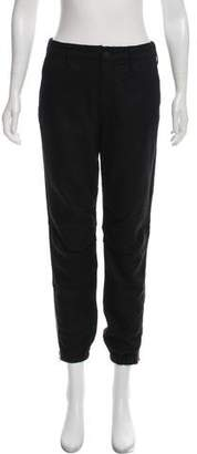 Mother Zip-Accented Mid-Rise Pants w/ Tags