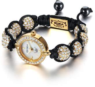 LTD Watch Ltd Ladies Watch Sh 042 - Stone Set Head On A Shimla Bracelet