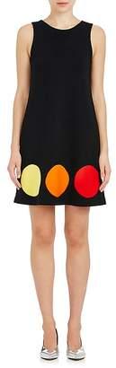 Lisa Perry Women's Dot Wool Shift Dress