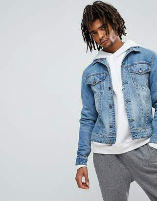 Cheap Monday Legit Denim Jacket in Blue Stone