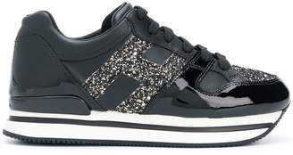Hogan flatforme low-top sneakers