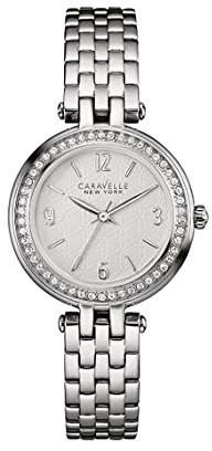 Bulova Women's Quartz Stainless Steel Casual Watch, Color:Silver-Toned (Model: 43L185) $55 thestylecure.com