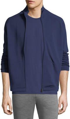 Ermenegildo Zegna Full-Zip Stand-Collar Sweater