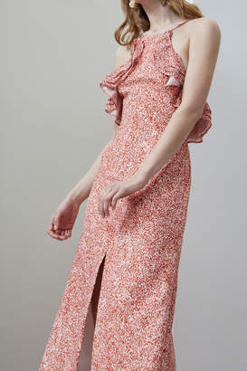 C/Meo COLLECTIVE FADING NIGHTS FITTED DRESS terrazzo