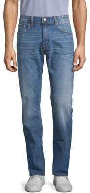 Vigoss Faded Straight Leg Jeans