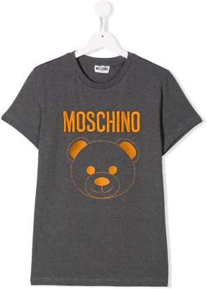 Moschino Kids Teddy logo T-shirt