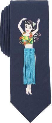 Original Penguin Men's Hula Hula Conversational Skinny Tie
