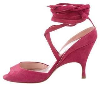 Ballin Alchimia Di Suede Lace-Up Sandals