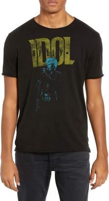 John Varvatos Billy Idol Graphic T-Shirt