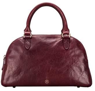 Maxwell Scott Bags Luxury Wine Women S Leather Bowling Bag Handbag