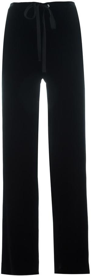 TheoryTheory wide leg trousers