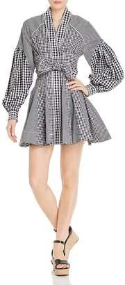 Acler Lella Gingham Mini Dress