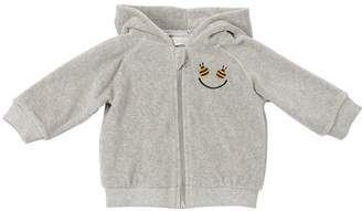 Stella McCartney Happy Bee Chenille Sweatshirt Hoodie