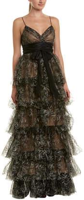 Cinq à Sept Kaine Silk-Blend Gown